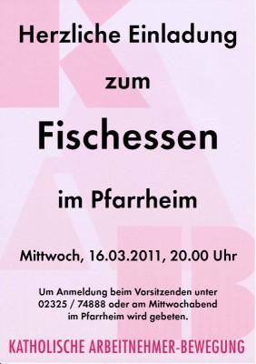 Plakat Fischessen2011-2